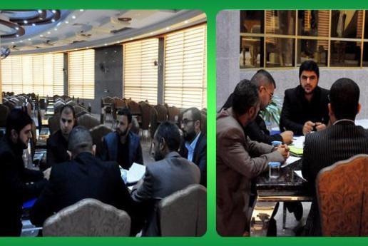 تصویر راه اندازی ایستگاههای قرآنی در مسیر زائران اربعین