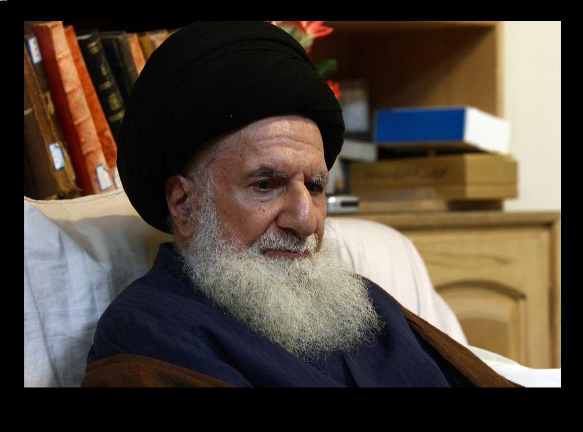 تصویر درگذشت عالم ربانی آیت الله العظمی سید تقی قمی طباطبائی