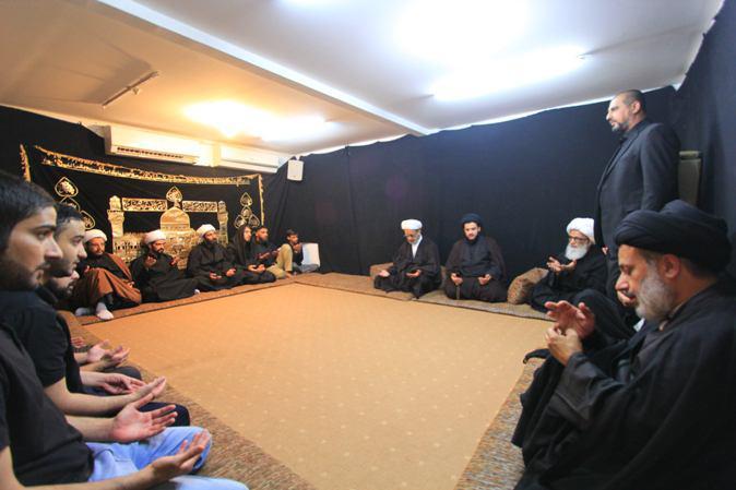 تصویر آیتالله العظمی بشیر نجفی: شعائر حسینی روح پایداری و مبارزه را تقویت میکند