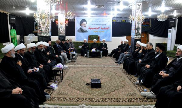 تصویر برگزاری همایش مرجعیت با شعار دستگاه امام حسین علیه السلام فرصتها و چالشها در شهر مقدس کربلا