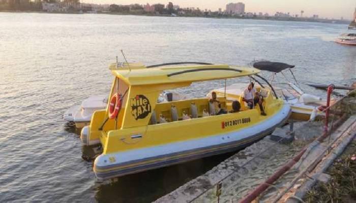 تصویر تاکسی های رودخانه ای در خدمت زائران اربعین
