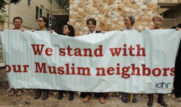 تصویر حضور صدها تن در راهپیمایی ضداسلامهراسی در تگزاس
