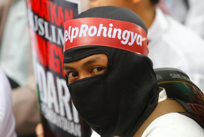 تصویر درخواست نخست وزیر مالزی برای جلوگیری از کشتار مسلمانان روهینگیا