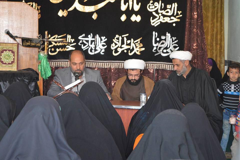 تصویر برگزاری همایشی با محوریت خطبه حضرت زهرا علیها السلام ویژه بانوان توسط مرکز ارادتمندان مرجعیت در شهر بغداد
