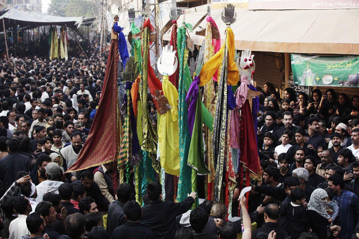 تصویر وعده پلیس پاکستان برای تامین امنیت شیعیان در عزاداری ها