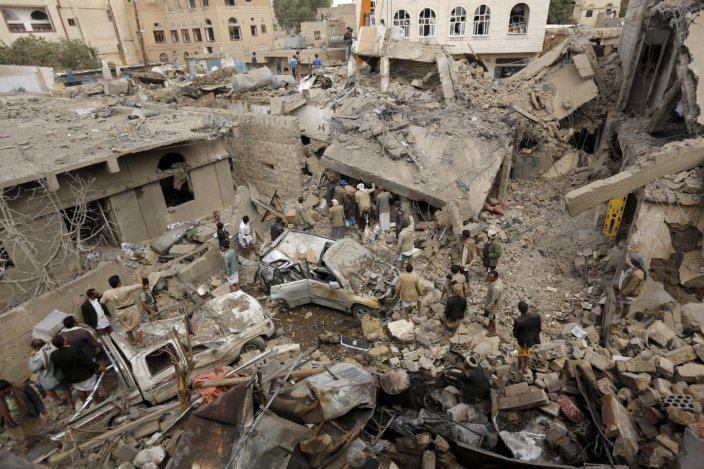 تصویر دیدهبان حقوق بشر: کشتار یمنی ها به دست عربستان با سلاح آمریکایی