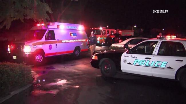 تصویر حمله با چاقو به یک نمازگزار در ایالت کالیفرنیا آمریکا