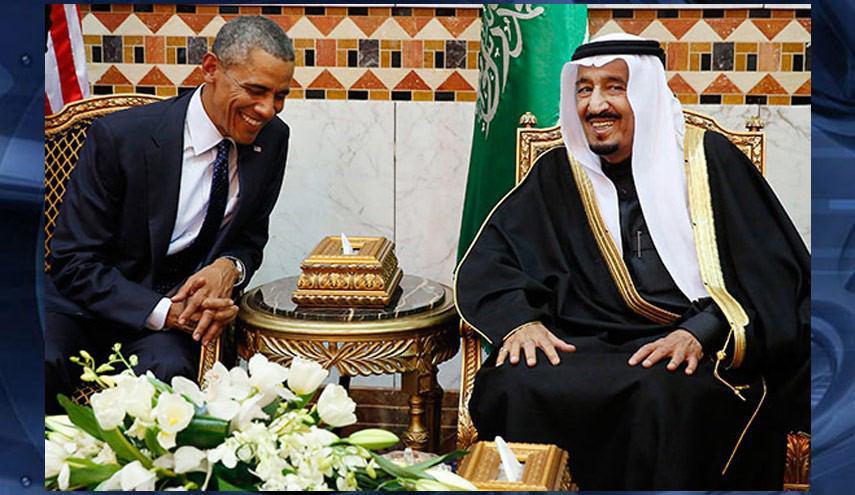 تصویر تعلیق فروش اسلحه آمریکا به عربستان به دلیل کشتار غیر نظامیان یمن