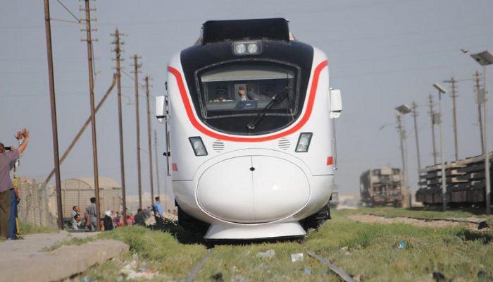 تصویر اختصاص قطار مسافربري براي مسير بغداد – کربلا، به طور هفتگى