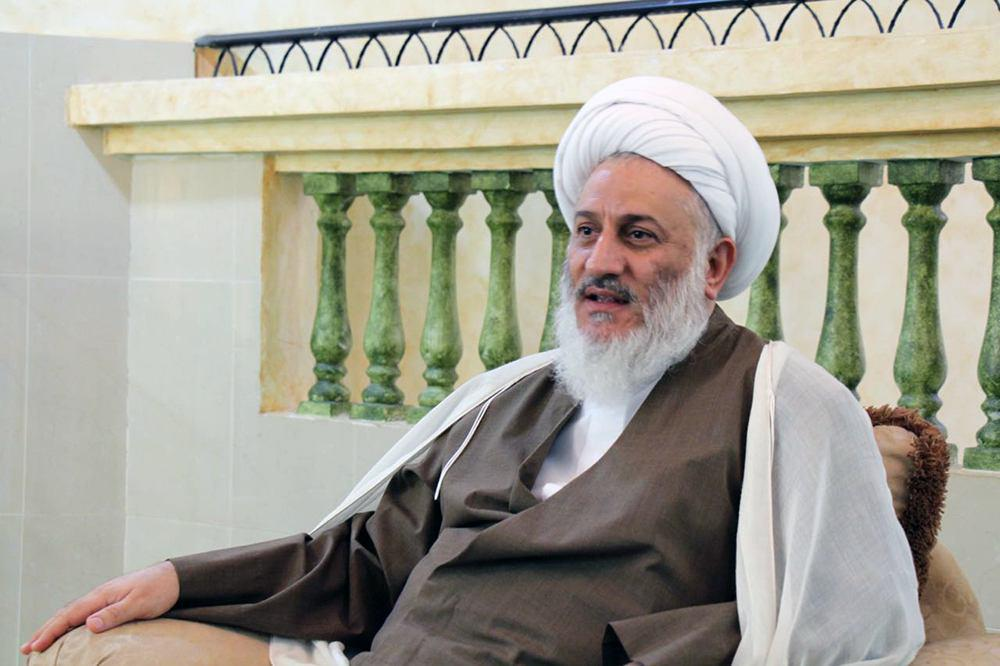 تصویر دهمین سالگرد تأسیس حوزه علمیه خاتم الأنبیاء صلی الله علیه وآله در بحرین