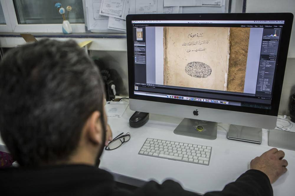 تصویر کپیبرداری از نسخ خطی برای نخستین بار در عراق