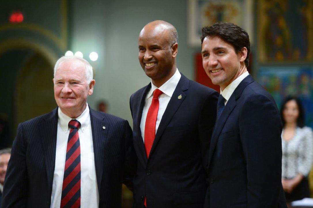 Photo of به وزارت رسیدن یک سیاه پوست مسلمان، اولین بار در کانادا