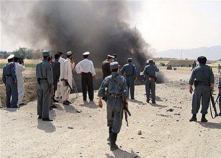 تصویر 7 تن در انفجار یک بمب در ننگرهار افغانستان کشته شدند