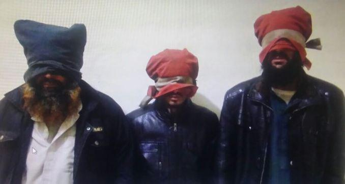 تصویر دستگیری مبلّغان القاعده در پیشاور پاکستان