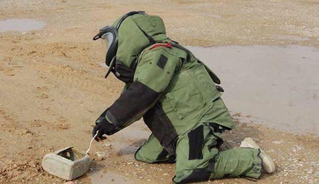 تصویر کشف 20هزار بسته انفجاری در الانبار