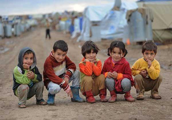 تصویر تاثیر جنگ سوریه بر کودکان