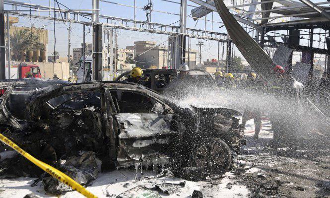 تصویر انفجار تروريستى در بغداد