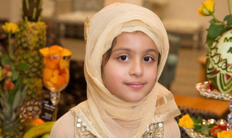 تصویر دختر هفت ساله انگلیسی، حافظ کل قرآن شد