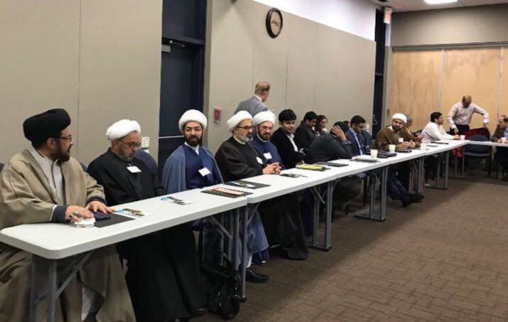 تصویر نشست مشترک مراکز شیعی آمریکا
