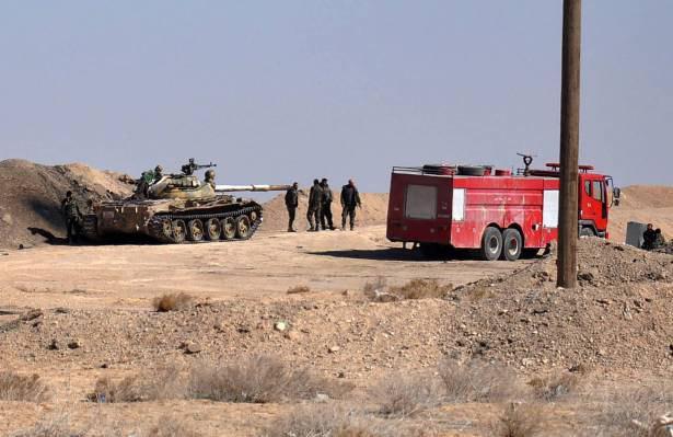 تصویر ارتش سوریه به پنج کیلومتری شهر الباب رسید