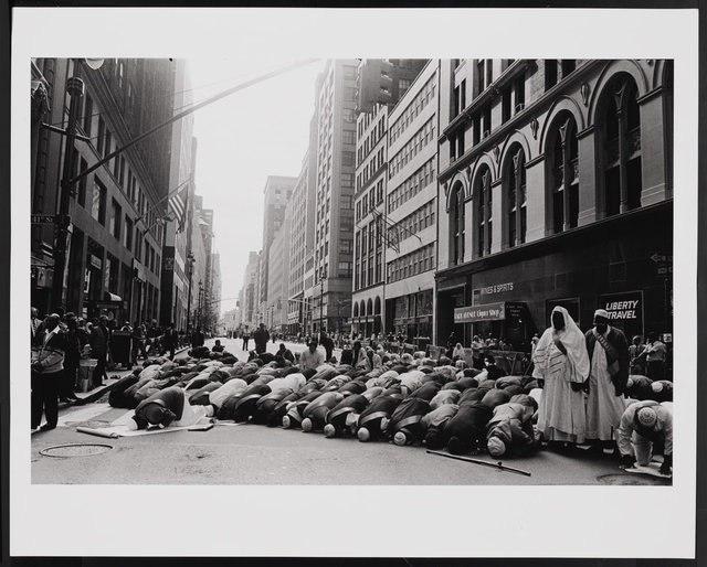 تصویر نمایشگاه عکس مسلمانان در نیویورک
