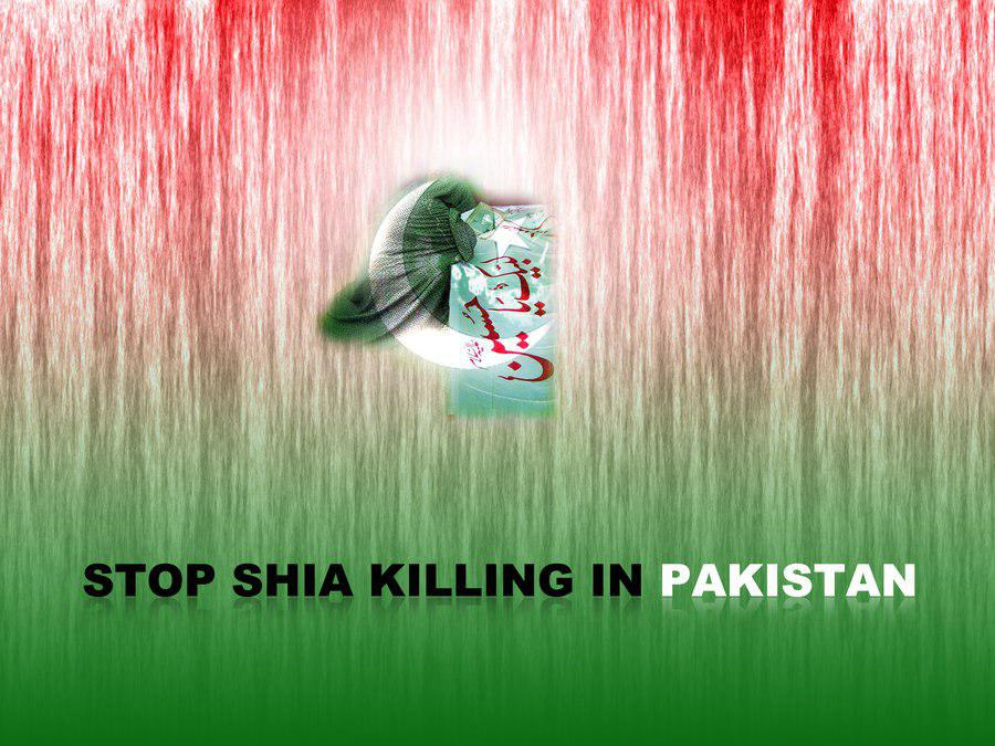 تصویر شهادت تاجر شیعه پاکستانی