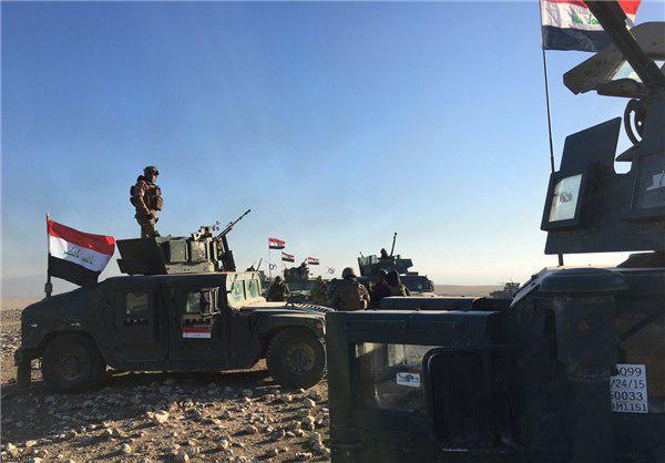 تصویر آغاز آزادسازی غرب موصل