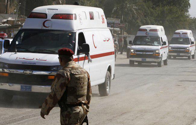 تصویر ٥ شهيد و زخمى در انفجار در بغداد