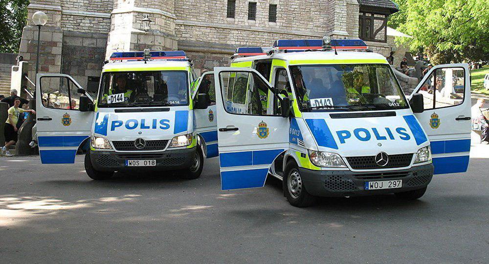 تصویر اسلام ستیزان، مرکز اسلامی گوتنبورگ را به آتش کشیدند