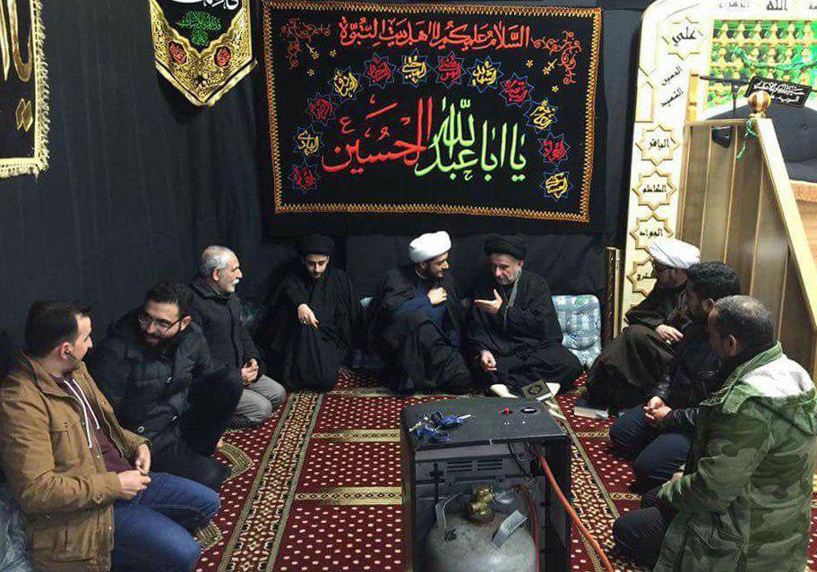 تصویر سفر تبلیغی نماینده دفتر آیت الله العظمی شیرازی به کشور سوئد