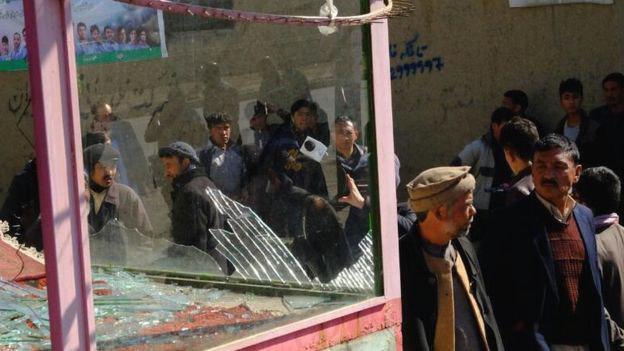 تصویر حملات انتحاری طالبان در کابل