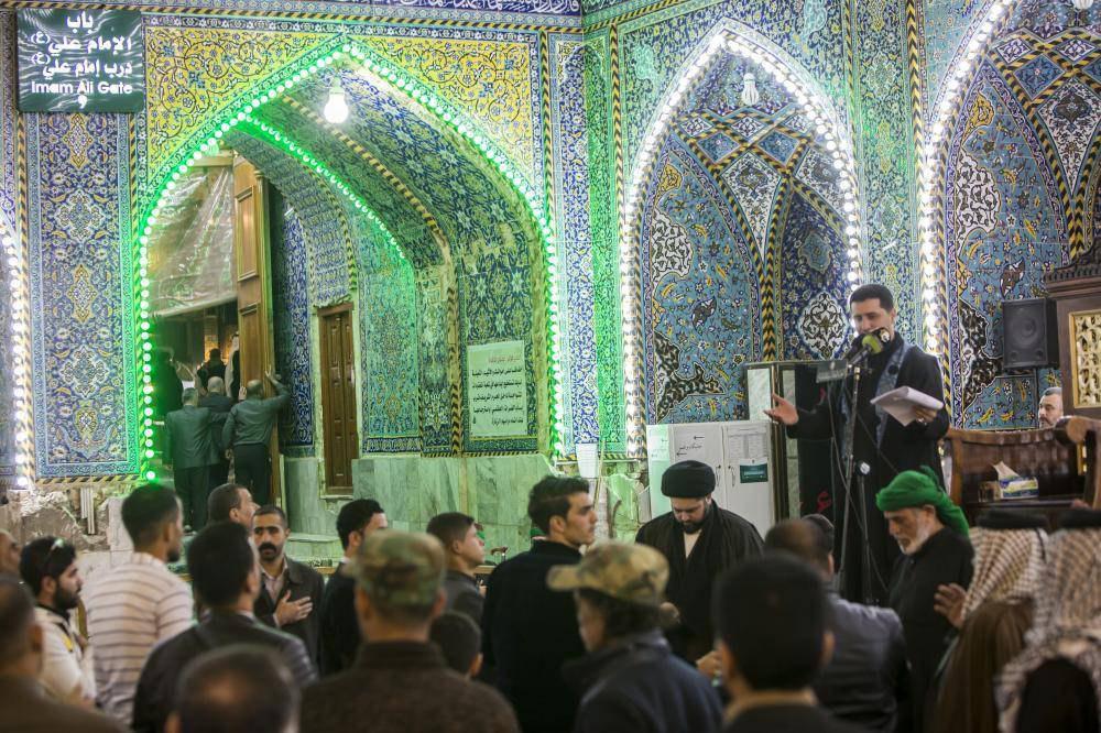 Photo of مراسم فاطمی در آستان عباسی