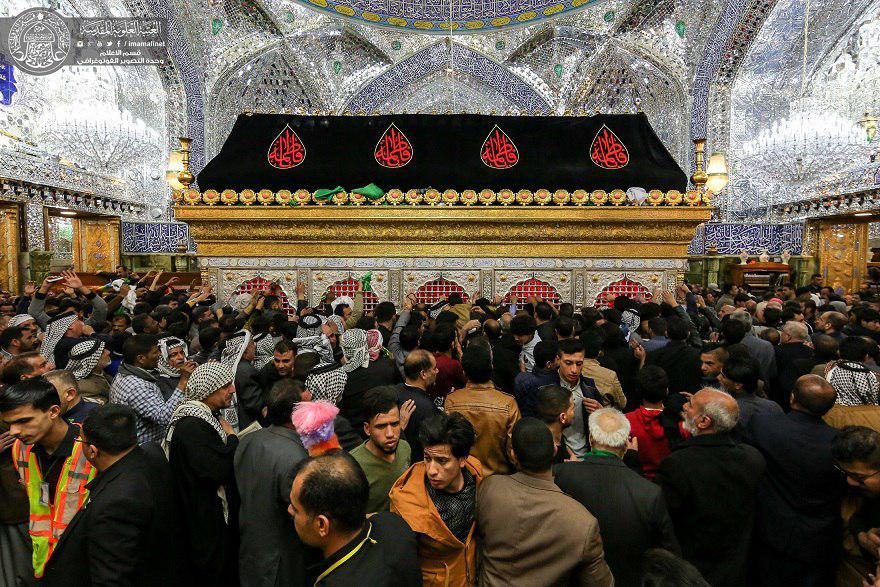تصویر حضور میلیونی عزادران فاطمی در شهر مقدس نجف