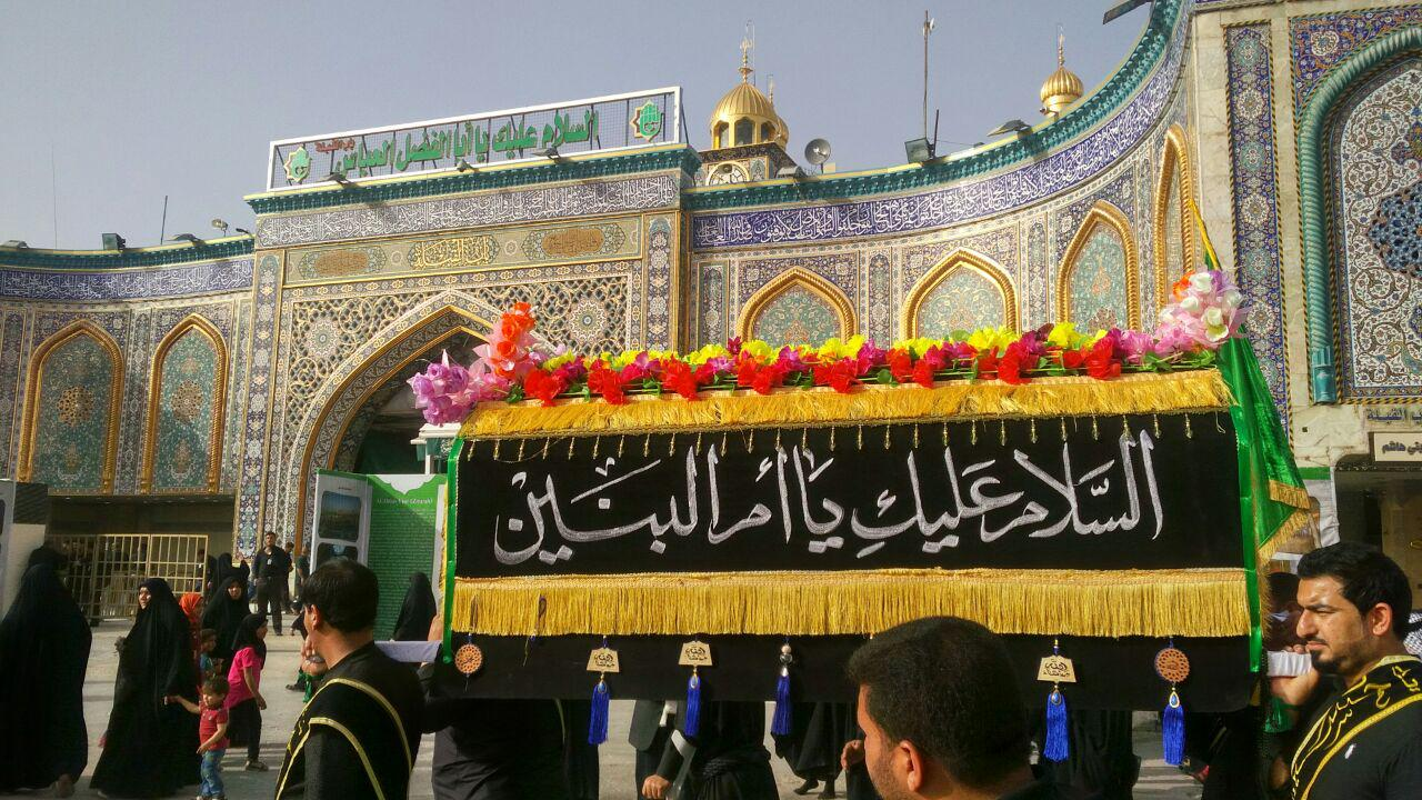 تصویر گزارش تصویری ـ دسته عزاداری کربلائی ها در روز رحلت حضرت ام البنین سلام الله علیها