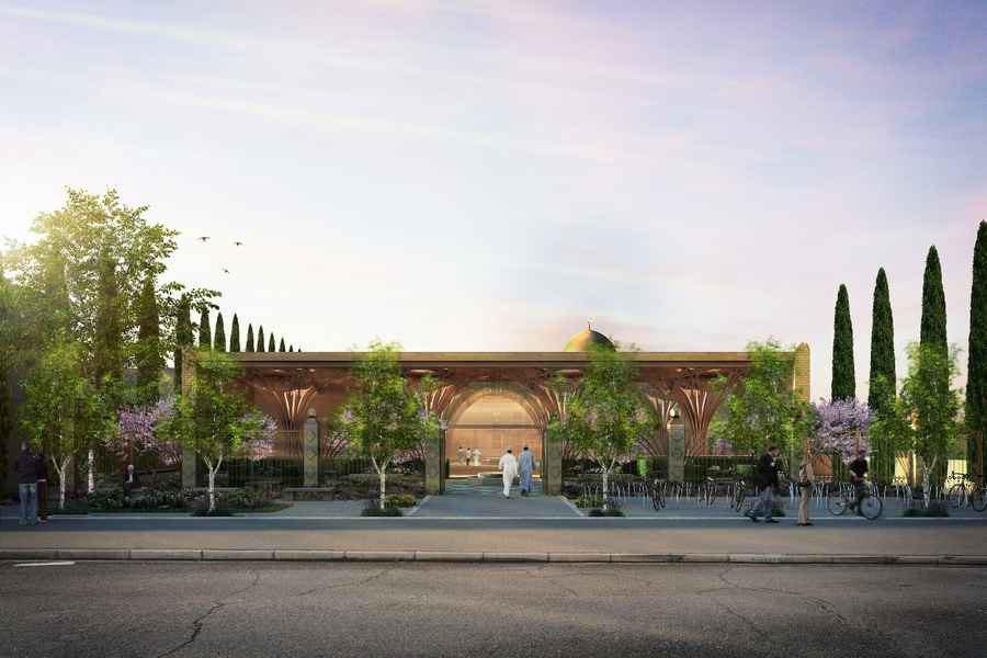 تصویر ساخت مسجد مدرن در دانشگاه كمبریج