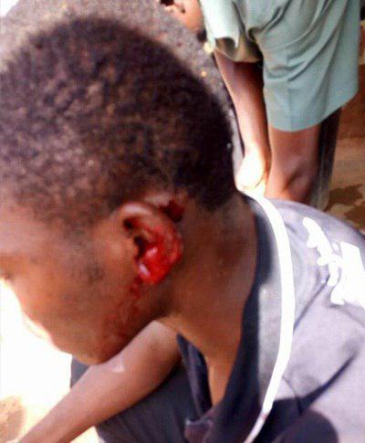 تصویر حمله اراذل و اوباش به شیعیان روستایی در نیجریه