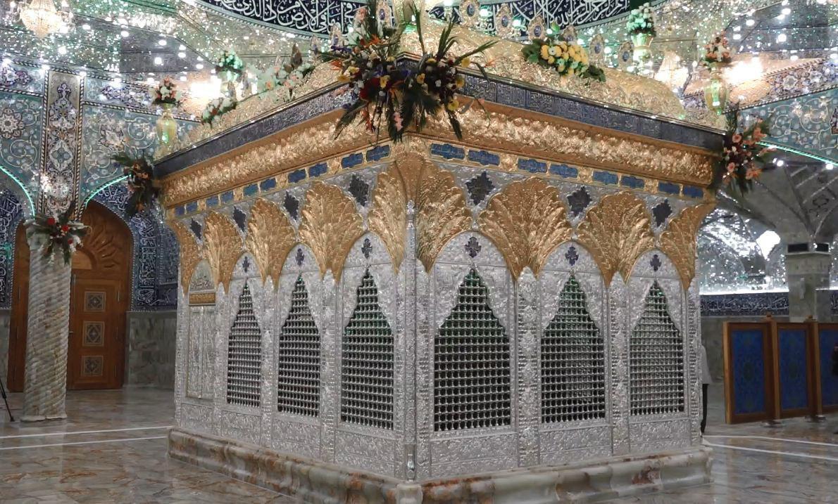 تصویر مراسم افتتاح ضریح مطهر صحابی جلیل القدر «میثم تمار» رضوان الله علیه