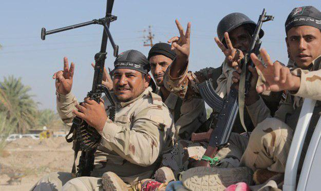 تصویر عملیات موفقیت آمیز نیروهای حشد الشعبی در سامراء