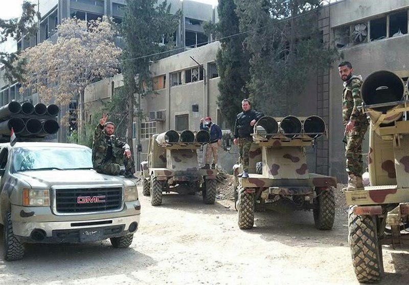 تصویر شکست حمله سنى هاى تندرو به شرق دمشق و تلفات سنگین تروریست ها
