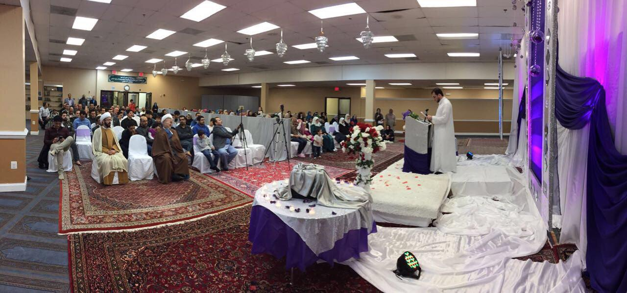 تصویر فعالیت های مرکز امام علی علیه السلام در واشنگتن