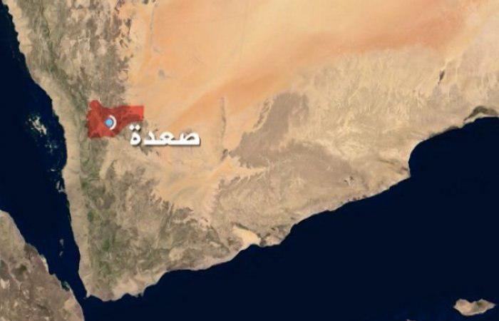 تصویر ادامه حملات هوایی ائتلاف عربی به یمن