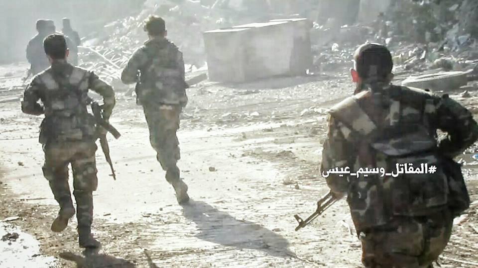 تصویر تلفات سنگین سنی های تندرو در منطقه جوبر