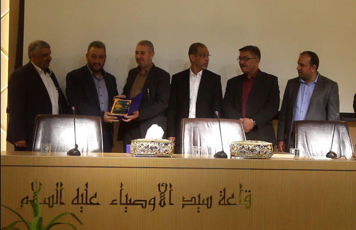 تصویر احراز رتبه دوم مسابقات «تولید برنامه ویژه اربعین حسینی»، توسط مجموعه رسانه ای امام حسین علیه السلام