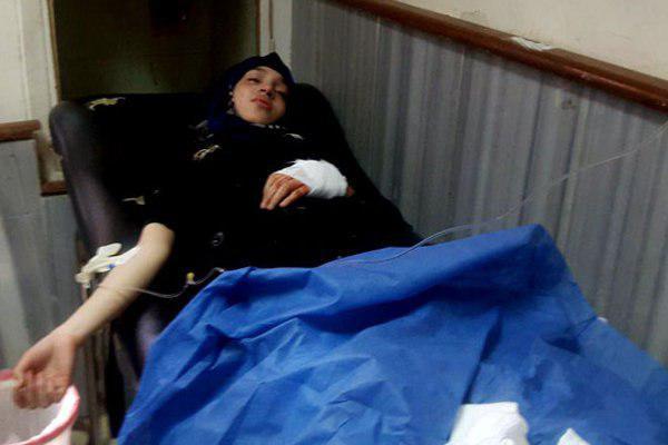 تصویر حملات خمپاره ای سنی های تندرو به دمشق و درعا