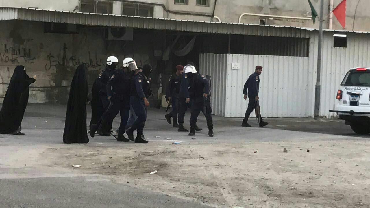 تصویر ادامه سرکوب های مردمی در بحرین