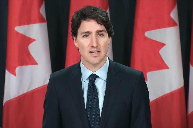 تصویر واکنش نخست وزیر کانادا به هتک حرمت قرآن