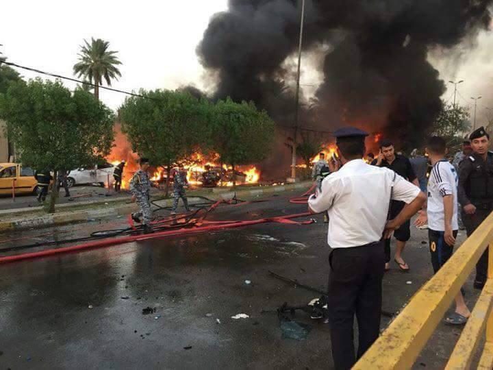 Photo of هشت شهید و مجروح در انفجارهای تروریستی شهر بغداد