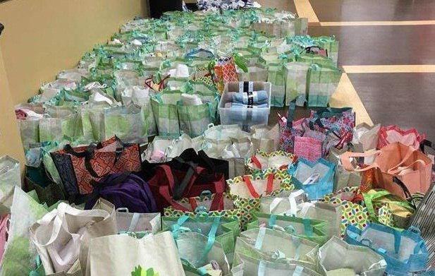 تصویر کمک چندهزار دلاری مسلمانان اوکلاهاما به نیازمندان