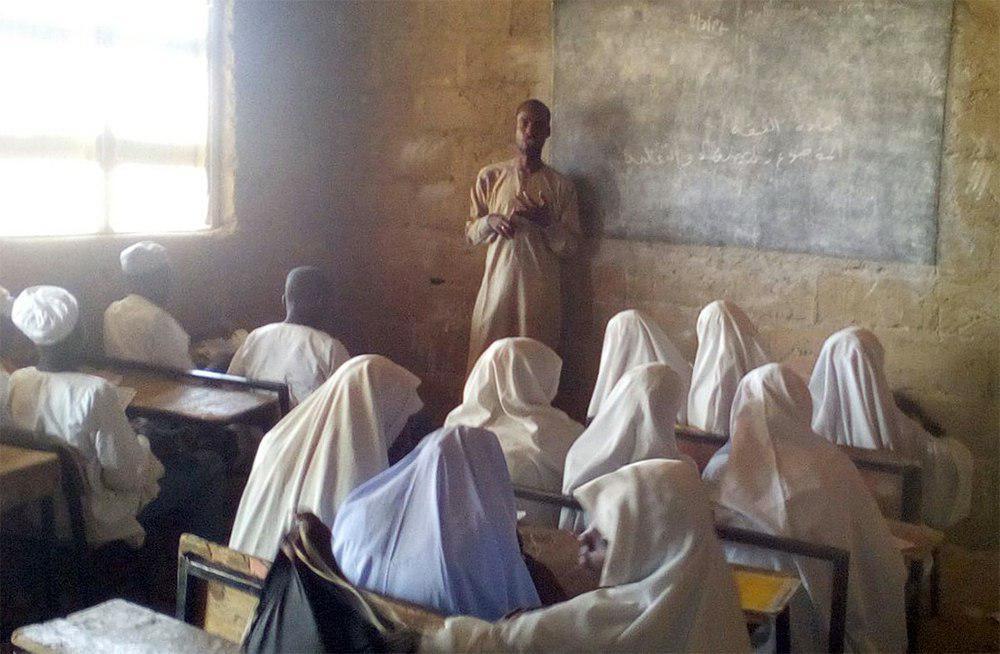 تصویر برگزاری دوره های آموزشی جوانان در مرکز آیت الله العظمی شیرازی در نیجریه