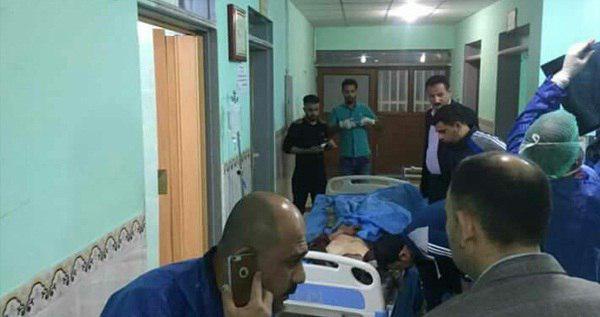 تصویر دستکم 86 جان باخته و مجروح در حمله داعش به محل اسکان آوارگان در تکریت